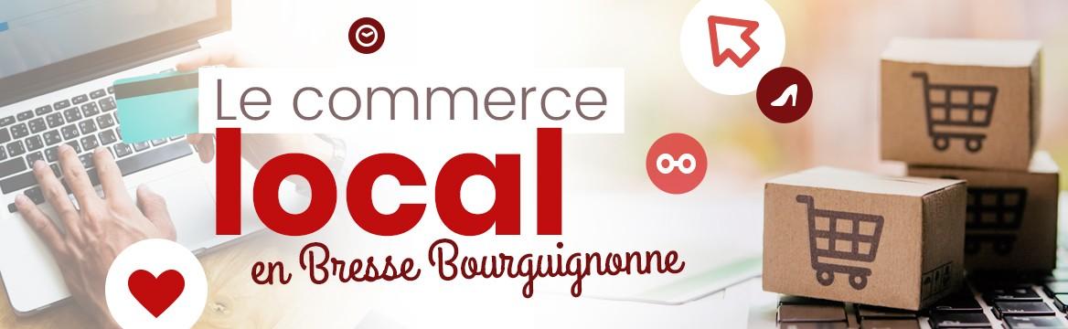 Le commerce local en Bresse bourguignonne